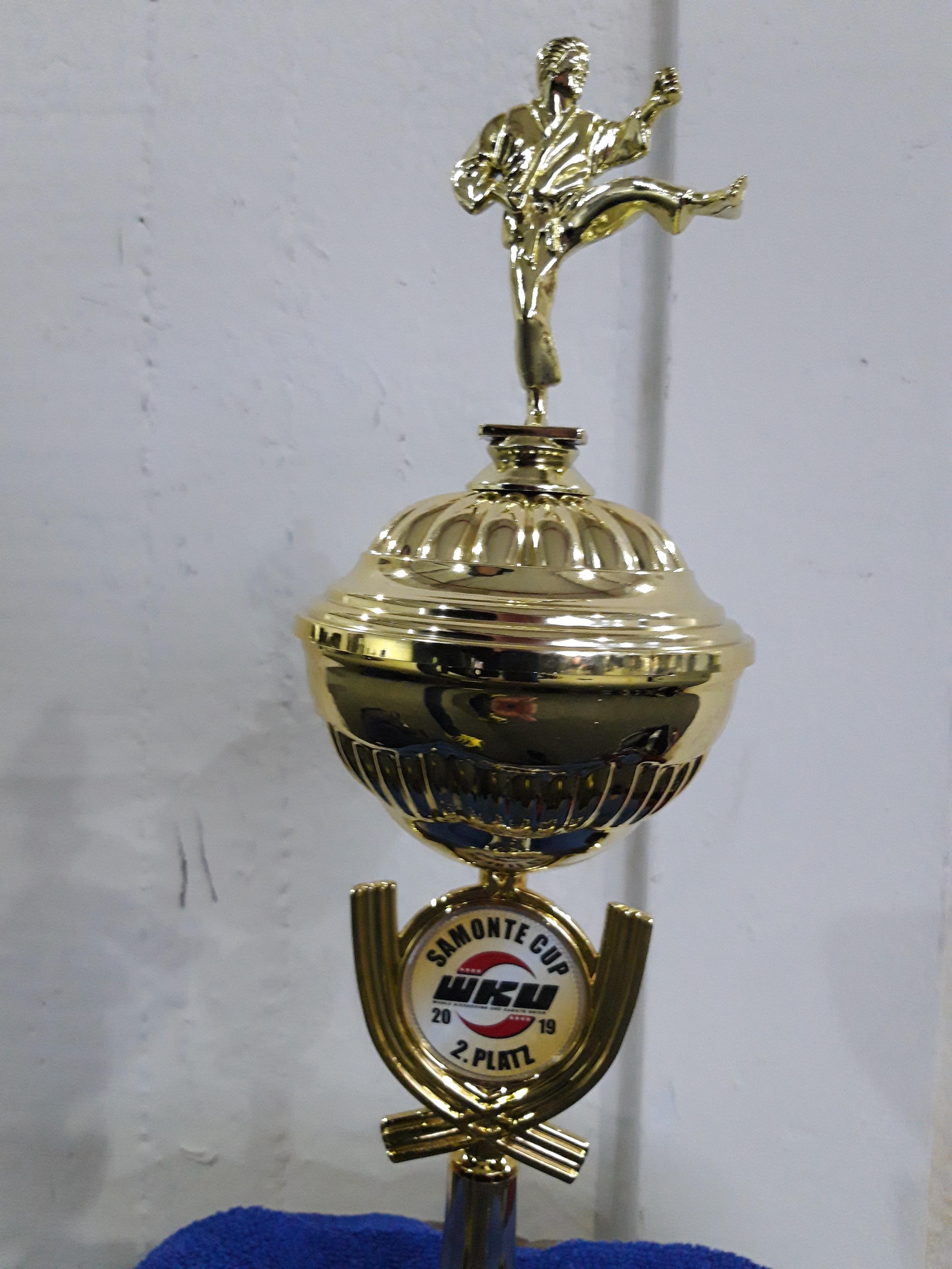 2. Platz Pokal